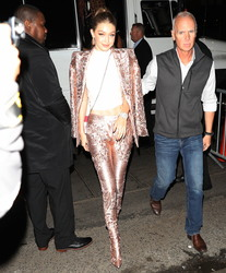 Gigi Hadid - At Up & Down Nightclub in NYC 5/7/18