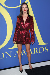 Alessandra Ambrosio - 2018 CFDA Fashion Awards in NYC 6/4/18
