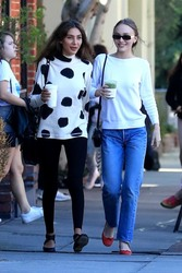 Lily-Rose Depp - Out for lunch in West Hollywood 1/25/19