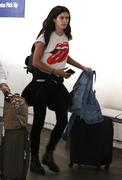 Sara Sampaio - At LAX Airport 6/7/18