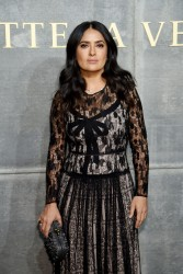 Salma Hayek - Bottega Veneta Fashion Show in NYC 2/9/18