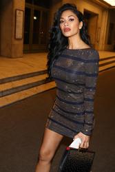 Nicole Scherzinger - Arriving at the Balmain After Party in Paris 3/2/18
