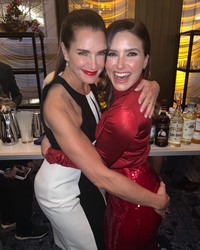 Brooke Shields and Sophia Bush at The Hollywood Reporter's 9th Annual Most Powerful People In Media Event in New York City - 4/11/19