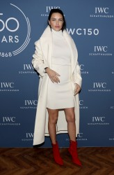 Adriana Lima - IWC Schaffhausen at SIHH Photocall in Geneva 1/16/18
