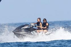 Camila Morrone - Jet skiing in St. Tropez 7/30/18