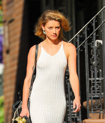 Amber Heard - Out in NYC 6/30/18