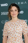 Sophia Bush   -               CFDA Variety and WWD Runway to Red Carpet Los Angeles February 20th 2018.