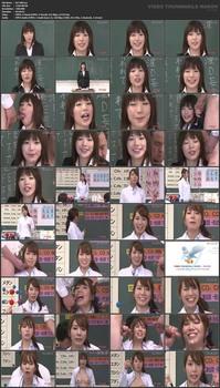 Кончая на лицо учителя во время занятий / Saeki Haruna, Kawashima Sana: Facials Teacher Woman! (CEN) (2013) DVDRip