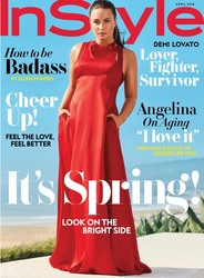 Demi Lovato - InStyle Magazine April 2018