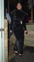 Nicole Scherzinger - Out for dinner in London 3/5/19