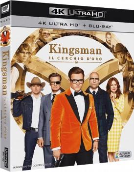 Kingsman - Il cerchio d'oro (2017) Full Blu-Ray 4K 2160p UHD HDR 10Bits HEVC ITA DTS 5.1 ENG TrueHD 7.1 MULTI