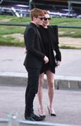 Lindsay Lohan - Saint Laurent Fashion Show in Paris 9/25/2018 c5272e985770814