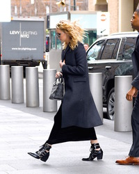 Jennifer Lawrence - Arriving at the World Trade Building in NYC 2/26/18