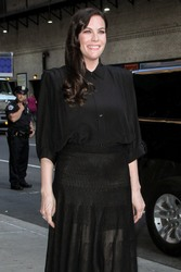 Liv Tyler - Arriving at The Late Show with Stephen Colbert in NYC 7/12/18