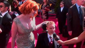 Christina Hendricks at the 63rd Annual Primetime Emmy Awards in LA - September 18, 2011 99187a902571234