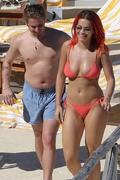 Rita Ora - Bikini candids in Tuscany 6/5/18