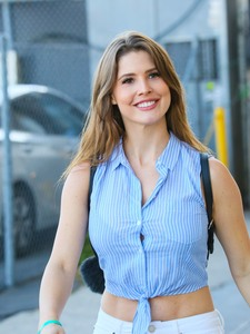 Amanda Cerny -                           Outside ''Jimmy Kimmel Live'' Hollywood June 13th 2018.
