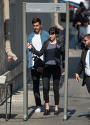 Shailene Woodley - Arriving at Jimmy Kimmel Live in Hollywood 5/23/18