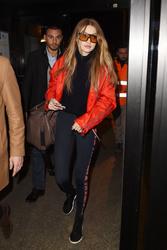 Gigi Hadid - At the airport in Milan 2/25/18
