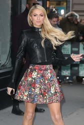 Paris Hilton - Arriving at the AOL Build Studios in NYC 12/19/18