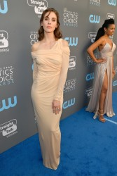 Alison Brie - The 23rd Annual Critics' Choice Awards in Santa Monica 1/11/18