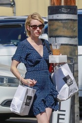 Emma Roberts - Out for lunch in Studio City 7/14/18