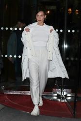 Bella Hadid - Leaving her hotel in Paris 2/27/18