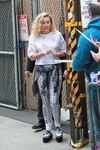 Miley Cyrus - Arriving at Jimmy Kimmel Live in Hollywood 5/1/18