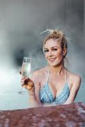Heidi Montag - Wearing a bikini in Aspen 1/9/19
