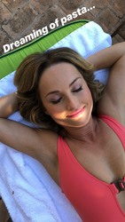 Giada De Laurentiis in a Swimsuit - 9/25/18 Instagram