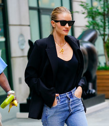 Rosie Huntington-Whiteley - Out in NYC 8/16/18