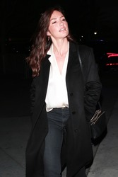 Minka Kelly - Arriving at The Staples Center in LA 1/30/19