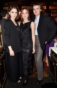 Natalia Dyer, Charlie Heaton, Joe Keery, and Maika Monroe @ Salvatore Ferragamo Dinner Party