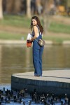 Selena Gomez at Lake Balboa park in Encino 02/02/2018c1c601737638683