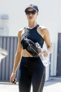 Rosie Huntington-Whiteley - Leaving the gym in West Hollywood 7/26/18