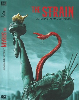 The Strain  - stagione 3 (2014 2017) 3xDVD9 COPIA 1:1 ITA ING TED