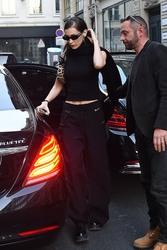 Bella Hadid - Leaving her hotel in Paris 2/27/19
