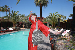 Zoey Deutch - H&M at The Sparrows Lodge at the 2018 Coachella Festival in Palm Springs 4/14/18