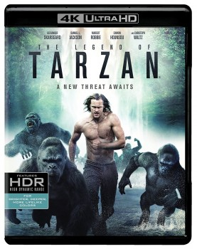 The Legend of Tarzan (2016) Full Blu-Ray 4K 2160p UHD HDR 10Bits HEVC ITA DD 5.1 ENG TrueHD 7.1 MULTI