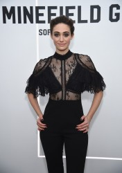 Emmy Rossum - 'The Minefield Girl' Audio Visual Book Launch in NYC 1/31/18