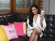 Shay Mitchell - Biore Limited Edition Citrus Crush Pore Strips Launch in NYC 6/19/18