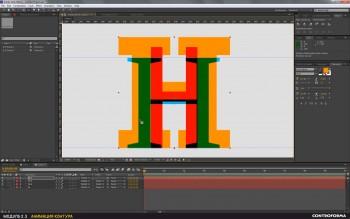 Моушн-дизайн. Анимированные буквы (2017) Видеокурс