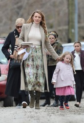 Blake Lively - Leaving Martha Stewart's Annual Easter Party in Bedford 4/1/18