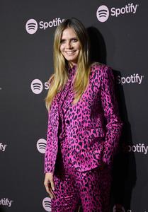 """Heidi Klum - Spotify """"Best New Artist 2019"""" Event in LA 2/7/19"""
