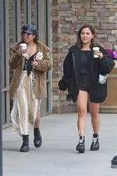 Vanessa & Stella Hudgens Leaving Starbucks in Los Angeles 04/19/2018c0e15d829365973