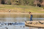 Selena Gomez at Lake Balboa park in Encino 02/02/20180637a4737644303