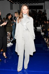 Hilary Swank - Ralph Lauren Fashion Show in NYC 2/12/18