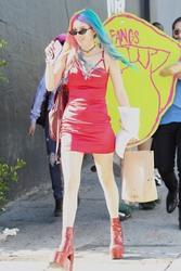 Bella & Dani Thorne - Filming a music video in LA 4/26/18