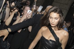 Bella Hadid - Leaving the Versace Show in Milan 6/16/18