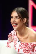 Alison Brie - Netflix 'Glow' TV show panel, TCA Summer Press Tour in LA 7/29/18